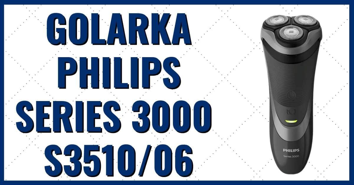 Męska golarka elektryczna Philips Series 3000 S3510/06