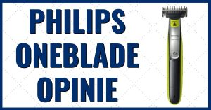 Philips oneblade opinie i test