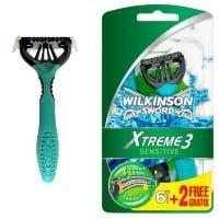Wilkinson sword extreme 3 sensitive dla skóry wrażliwej
