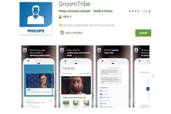 aplikacja Groomtribe