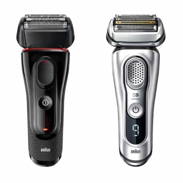 Braun Series 5 porównanie z Braun Series 9