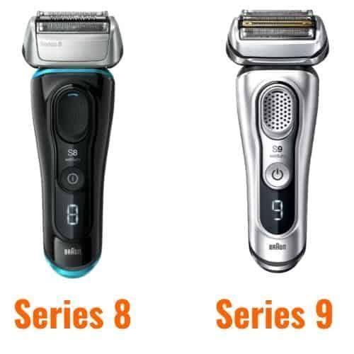 Braun Series 8 a Series 9