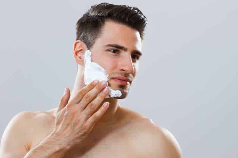 Czynności przed golenie