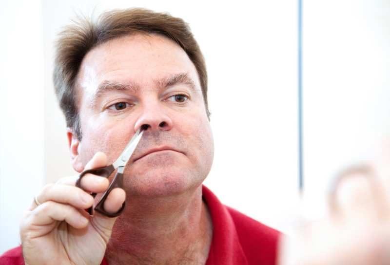 nożyczki do przycinania wlosów w nosie