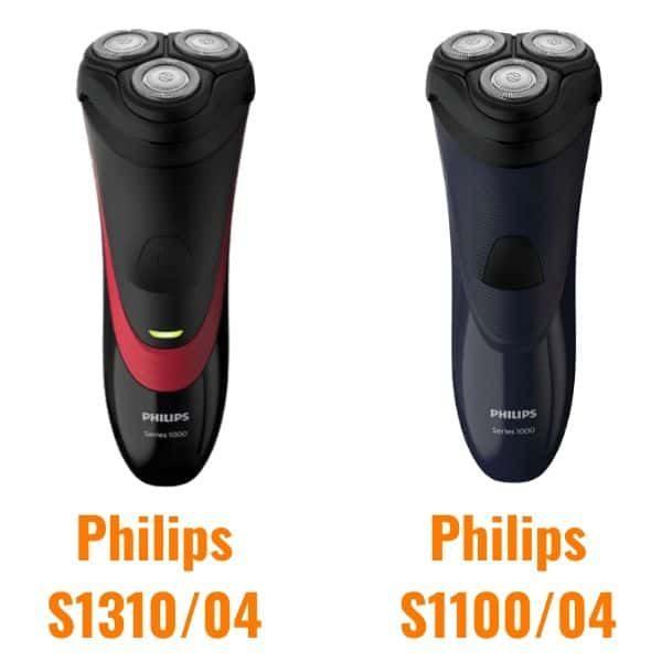 Porównanie modeli Philips S1310 z Philips S1100