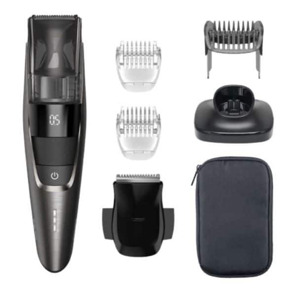 Philips beardtrimmer series 7000 BT7520 strzyżarka do brody z pojemnikiem na włosy