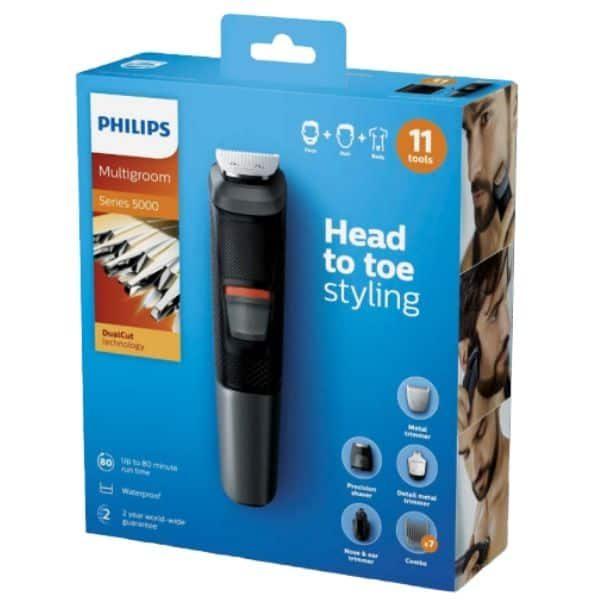 Philips multigroom series 5000 11W1 MG5730 pudełko
