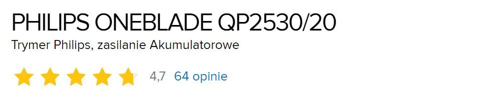 philips-oneblade-QP2530-20-opinie-uzytkownikow