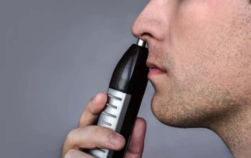 trymer elektryczny do usuwania włosów z nosa